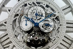 Cartier's dream pocket watch (Nuno T Neves) Tags: de gris grande nikon or watch cartier reserve 8 pocket nuno marche montre neves jours tourbillon complication squelette poche diamants d80 perpétuel quantième sertie