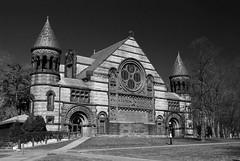 alexander hall (BehindBlueEyes) Tags: bw newjersey nj princeton mercercounty princetonuniversity alexanderhall