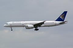 Air Astana Boeing 757-2G5 P4-GAS (Kambui) Tags: airplane airplanes boeing 757 aviones avions flugzeuge  avies boeing757200 aeroplani kambui