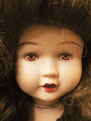 Pretty eyes (Alkiyan) Tags: doll antique clay belgian unica cramique mueca belge poupe
