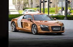 Audi R8 (iphoto.geri) Tags: auto summer speed hotel hungary parking wheels budapest fast wrap automotive audi rims luxury supercar motorsport r8