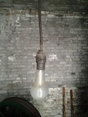 Byron the bulb found - exactly how I pictured him (ianulimac) Tags: lamp lightbulb bulb thomas rocket pynchon byron immortal v2 everlasting gravitysrainbow byronthebulb