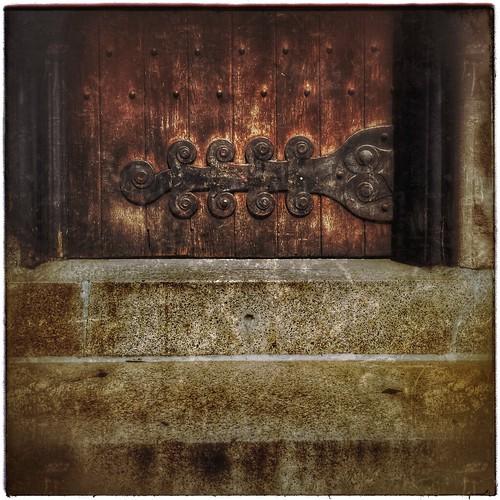 Spruce Street Door.