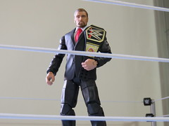 (imranbecks) Tags: world scale paul championship action wrestling chief champion battle ring h entertainment pack elite figure hhh triple heavyweight 32 operating officer mattel wwe authentic coo levesque