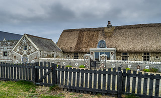 Cliff Cottage at Cullenstown, Co. Wexford.
