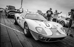 GT40 (vapi photographie) Tags: show california santa old 6 classic ford beach car sport la pier los gulf angeles number exposition monica gt40