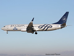 SkyTeam (KLM-Royal Duch Airlines). (Jacques PANAS) Tags: boeing airlines duch skyteam 7379k2 phbxo klmroyal msn29599866