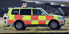 Airfield Operations ( Freddie) Tags: london shogun mitsubishi londoncityairport newham e16 lcy royaldocks eglc runway27 mitsubishishogun lwbshogun