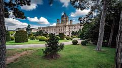 Wien-Kunsthistorisches Museum (Ralph Punkenhofer) Tags: vienna wien blue sky travelling museum austria sterreich nikon outdoor kultur himmel d750 20mm nikkor f4 blauer kunsthistorisches heiter