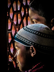 patrickrancoule-1122 (Patrick RANCOULE) Tags: delhi islam enfants inde jeunes garons musulmans moucharabis