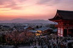After the sun is set (siswanto_p) Tags: sunset ngc kiyomizudera