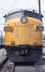 Twilight of the F-Units on VIA Rail (kenyoung3) Tags: diesel locomotive viarail railroads funit fp9