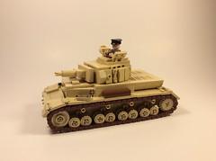 Panzer IV Ausf F1 (mjbricks(flose master)) Tags: tank lego german panzer dak brickarms
