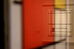 3054 (augusto gomes) Tags: brasil cores sopaulo centro reflexos pietmondrian centroculturalbancodobrasil