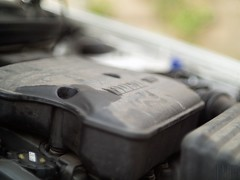 Fiat Punto engine (marcogariboldi) Tags: auto car punto automobile fiat convertible cabrio yashica cabriolet yashinon tomioka 1255