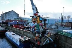 River Calder Scenes (martinelliss) Tags: uk england yorkshire canals riversstreams boatsships