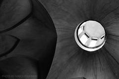black penetration (Masoudeh Miri) Tags: light architecture circle blackwhite iran traditional minimal line cupola dome vault kashan bianconero volta linea architectura tradizionale soffitto fingarden linescurves minimale finbath hammamefin
