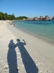 Bora  Bora Shadow Selfie (Craigs Travels) Tags: southpacific borabora frenchpolynesia societyislands