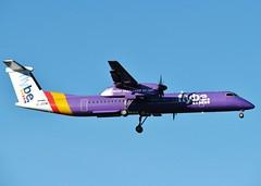 G-JEDW (AnDrEwMHoLdEn) Tags: manchester airport manchesterairport dash8 egcc flybe 05l