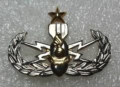 Royal Thai Army Advanced Explosive Ordnance Disposal (EOD) (Sin_15) Tags: thailand army military royal disposal eod badge thai insignia explosive ordnance