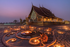 Morality of Light (KRW_GNS) Tags: blue light red portrait sky people beautiful festival asian thailand religious temple person kid worship asia candle place little robe buddha buddhist traditional faith religion pray young culture belief monk buddhism monastery monks thai myanmar meditation southeast tradition wat tao bagan novice