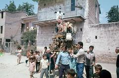 Frattaminore (NA), 1974, Festa della Madonna della Piet. (Fiore S. Barbato) Tags: italy campania madonna festa feste processione piet frattaminore
