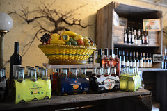 Bowl of Fruit (Ptolemy the Cat) Tags: blur fruit store wine bokeh merchandise fruitbowl bowloffruit milawa nikond600 nikonf282470mmlens italyonaplate