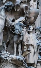 Mary-&-Joseph_DSC2959 (Mel Gray) Tags: barcelona church spain catholic basilica religion gaudi sagradafamilia religiousart religiousarchitecture