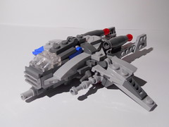 BB-69 Heavy Atmospheric Bomber (Unnecessary Chair) Tags: lego spaceship moc microscale