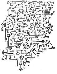 sb 19 apr 16m (beihouphotography) Tags: monochrome ink fun pages version sketchbook line page doodles pens