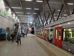 Rotterdam: Wilhelminaplein Metro Station (harry_nl) Tags: netherlands station rotterdam metro nederland wilhelminaplein 2016 rnet