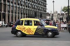 LTI TX4 London Taxi in Savills livery (Ian Press Photography) Tags: london cars car carriage cab taxi transport taxis international cabbie cabs livery lti savills tx4