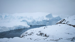 Ilulissat Icefjord (Lil [Kristen Elsby]) Tags: snow landscape arctic greenland fjord iceberg arcticcircle travelphotography ilulissat icefjord jakobshavn westgreenland ilulissaticefjord vestgronland canong12