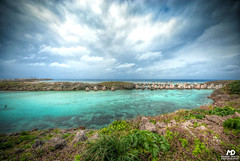Breakwaters (Marek Dekys) Tags: travel light sun color art colors japan landscape photography design photo high nikon day view dynamic outdoor arts picture sigma sharp okinawa d200 exploration range hdr kyushu dx yonaguni 2016 816 jaejama