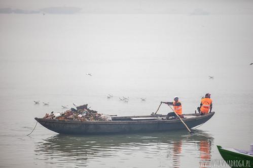 Wywóz śmieci z Waranasi