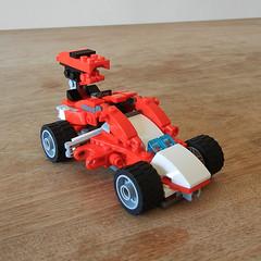 DSCN6269 (alfa145q_lego) Tags: robot lego mecha rebuild alternate 31034 31033 31032 legocreator vehicletransporter redcreatures futureflyers