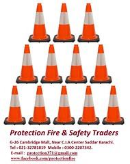 Protection fire trafic cones (Martin Pur) Tags: road fire belt shoes industrial pipe hose safety gloves vest extinguisher coverall cones reel trafic