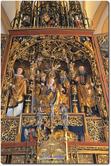 Gothic Altarpiece from Heilegenblut Church of St. Vincent (oar_square) Tags: austria christianart pilgrimagechurch heiligenblut maryaltar gothicaltarpiece gothicwingedaltar