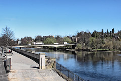 _MG_2915a - Scenes of Perth Scotland along the river Tay by Grant Hulley (henryhulley) Tags: bridge blue sky beautiful canon river scotland perthshire sunny tay perth canonuser canon50d