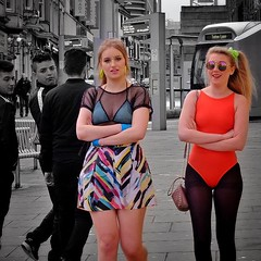 nightout #nottingham #candid #selectivecolour #girls #dressingup... (thephilosopherstoned) Tags: nottingham girls costume nightout candid dressingup colourful selectivecolour uploaded:by=flickstagram instagram:photo=1238010566898021956311672236