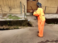 Street Sweeper (Picture of The Year 2015) (Jujufilms) Tags: streetsweeper streetcleaner lagosnigeria jujufilms
