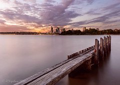 Across the River (JChipchase) Tags: jetty australia perth