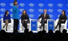 Progress towards Parity: Lyse Doucet moderates (World Economic Forum) Tags: switzerland am davos wef che session congresscentre worldeconomicforum annualmeeting congresscenter graubuenden am2016 as279 sessionid72048