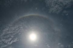 Halo solar - Sun halo (adelaidephotos) Tags: brazil sky sun sol rio brasil riodejaneiro maria optical halo atmosphere céu efeito adelaide effect atmosfera silva partial troposphere sunhalo halosolar circularhalo parcial óptico troposfera halocircular