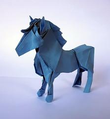 Pony (orig4mi.) Tags: paper origami pony fold
