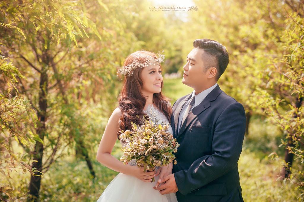 婚攝英聖 |自主婚紗Nash Jia Ling 淡水莊園 ~造型:晼屏