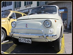 Fiat 500L, 1971 (v8dub) Tags: auto old classic car schweiz switzerland 1971 italian automobile suisse fiat automotive voiture l oldtimer 500 oldcar collector vevey wagen pkw klassik worldcars