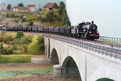 SNCF 040 D 120 (hans.hirsch) Tags: 120 train kuh d riviere trix pont ho brcke fluss 187 khe vache sncf viaduc charbon doubs viadukt 040 vapeur h0