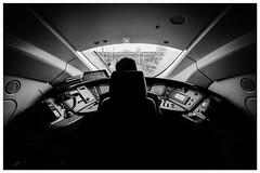 Last stop , London St Pancras. (sdupimages) Tags: london train blackwhite eurostar londres 1018 e320 eos70d