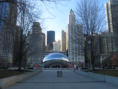 Chicago: Jay Pritzker Pavilion (zug55) Tags: chicago illinois loop millenniumpark cloudgate thebean anishkapoor